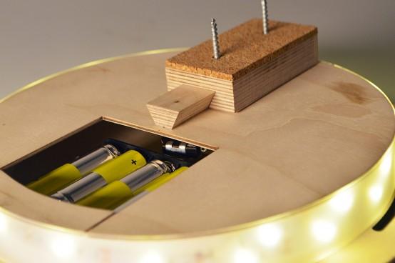 Interactive Modern MATlamp To Rotate