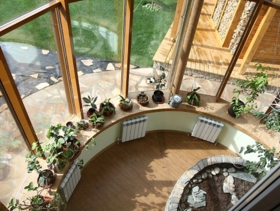Inviting Interior And Futuristic Architecture Of A Siberian Fort
