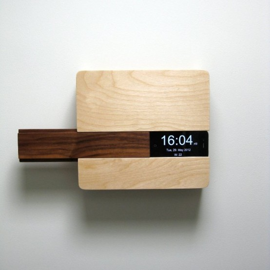 iphone charging station and comfortable shelf in one - Iphone Charging Station