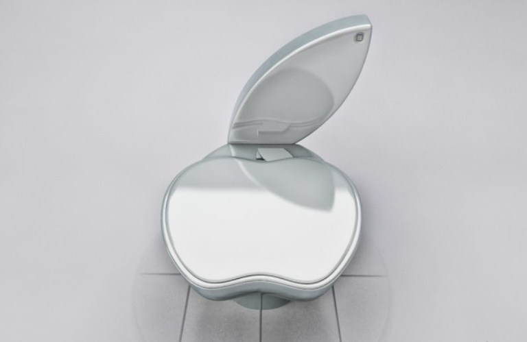 iPoo Toilet For Real Apple Fans