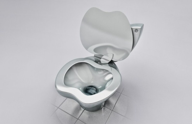 Outstanding Apple Toilet 768 x 497 · 30 kB · jpeg