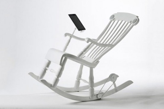 iRock Chair For Charging Your iPad