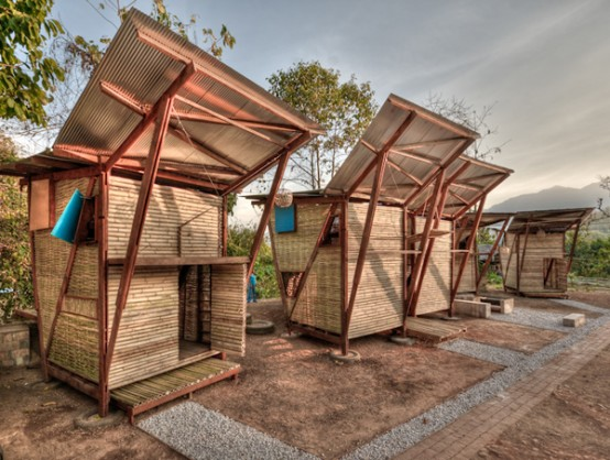Iron Wood Prefab Houses In Thailand