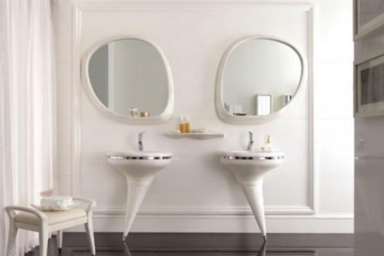 Isabella Pedestal Vanity Set To Make A Statement In A Bathroom