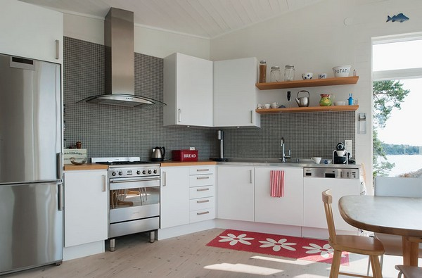 шведский дизайн кухни