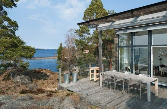 Island House In Rustic Style