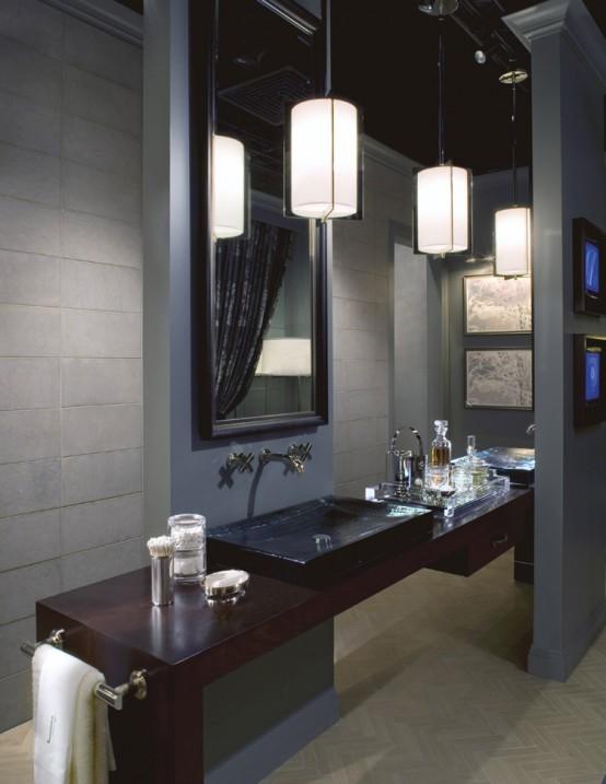 Bath designed by James Dolenc and Tom Riker