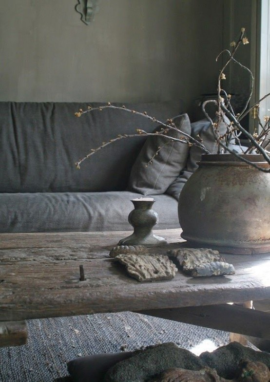 Japanese aesthetic 35 wabi sabi home d cor ideas digsdigs - Zen toilet decoratie ...