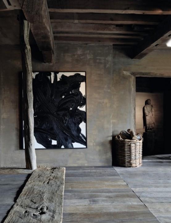 Idées japonaises japonaises de décoration intérieure Wabi Sabi