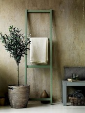 a wabi-sabi space with rough stone walls – such wall covering is very wabi-sabi-like and it gives a textural look to the space