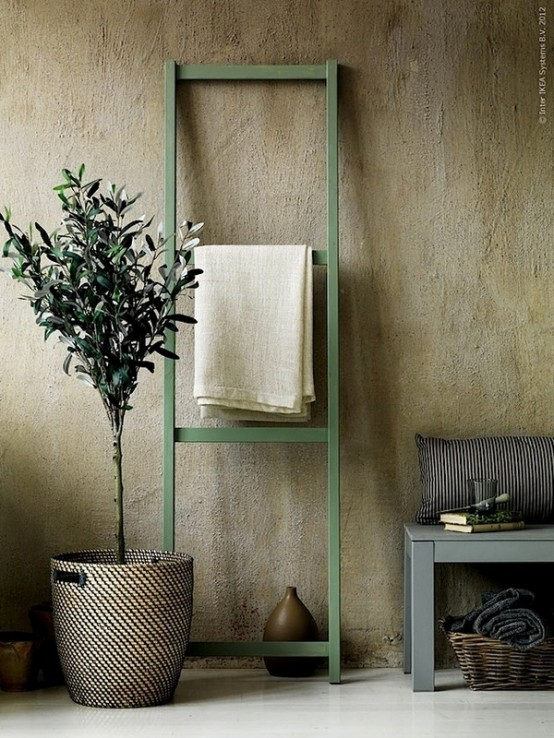 a wabi-sabi space with rough stone walls - such wall covering is very wabi-sabi-like and it gives a textural look to the space