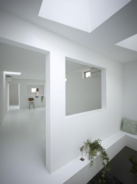 Japanese House Design With Garden Room Inside