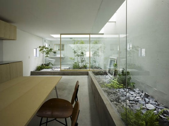 Small Japanese Garden House