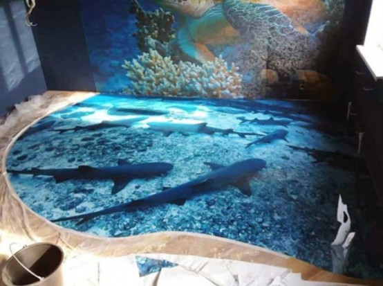Jaw-Dropping And Super Realistic 3D Epoxy Floors