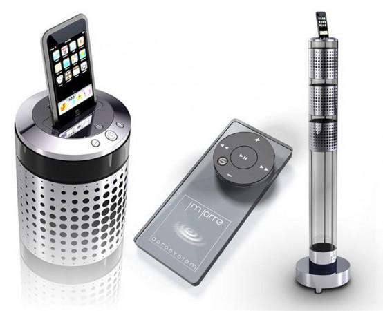 Jean Michel Jarre iPod speakers