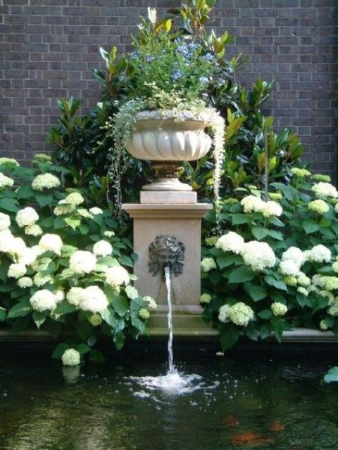 Incroyable Joyful And Beautiful Backyard And Garden Fountains