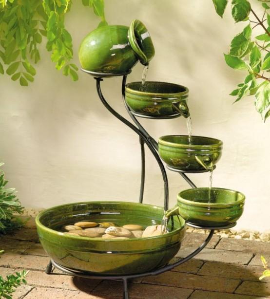 Joyful And Beautiful Backyard And Garden Fountains