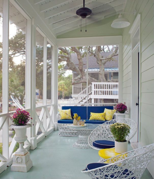 36 Breezy Beach Inspired Diy Home Decorating Ideas: 36 Joyful Summer Porch Décor Ideas