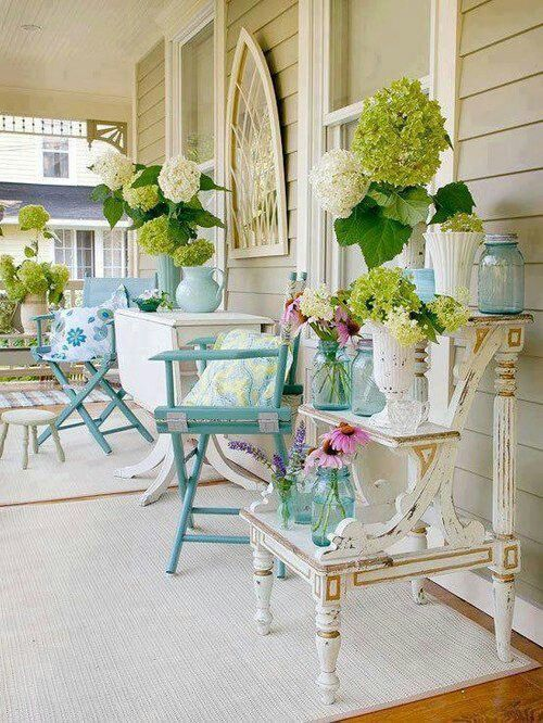 36 Joyful Summer Porch Decor Ideas - DigsDigs