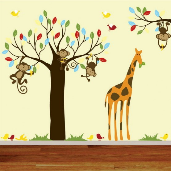 Jungle Inspired Kids Room