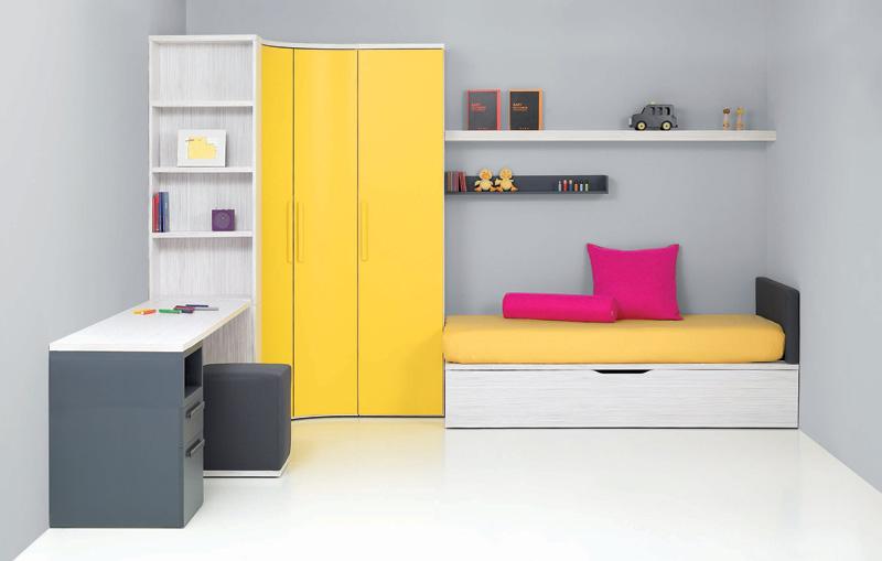 17 cool junior room design ideas digsdigs for Simple kids bedroom ideas