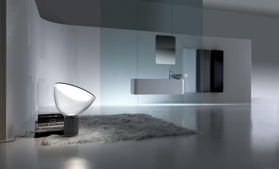 Mobili da bagno arrotondati con profondit ridotta k08 di karol decora idee - Karol mobili bagno ...