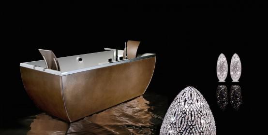 Free Standing Metal Soaking Bathtubs – Kali' Metal from BLUBleu