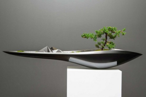 Kasokudo Bonsai Planter That Seems To Float