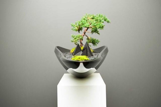 Kasokudo Bonsai Planter That Seems To Float