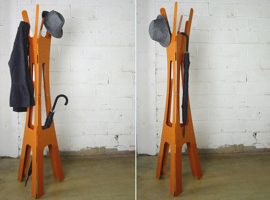 Keeping Clothes Off The Floor: 28 Coat Racks And Stands  DigsDigs