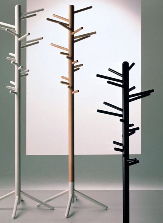 Cool Coat Rack keeping clothes off the floor: 28 coat racks and stands - digsdigs