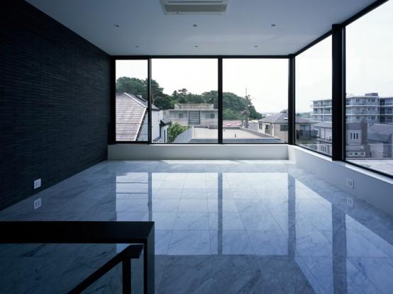 KG House by Baqueratta with Dark Interior