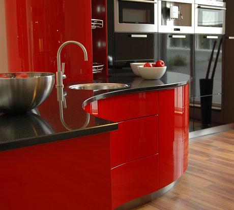 Kiche Concept Ferrari Rot