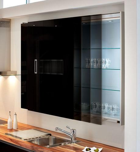 Kiche Concept Glasoptik Schwarz
