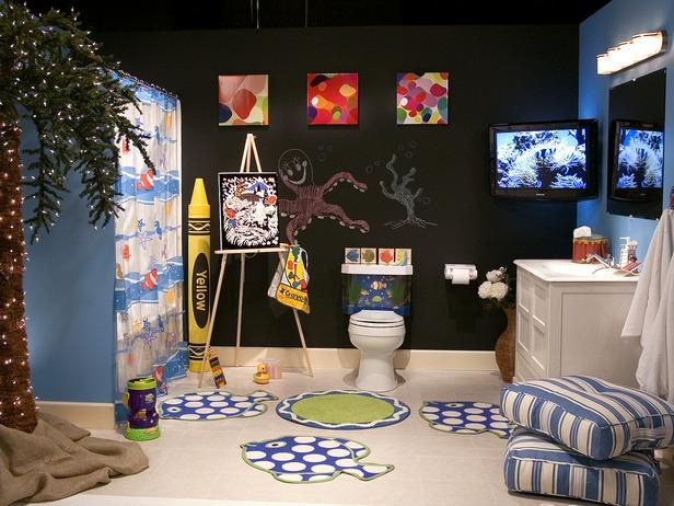 10 cute kids bathroom decorating ideas digsdigs best 20 kid bathroom decor ideas on pinterest half