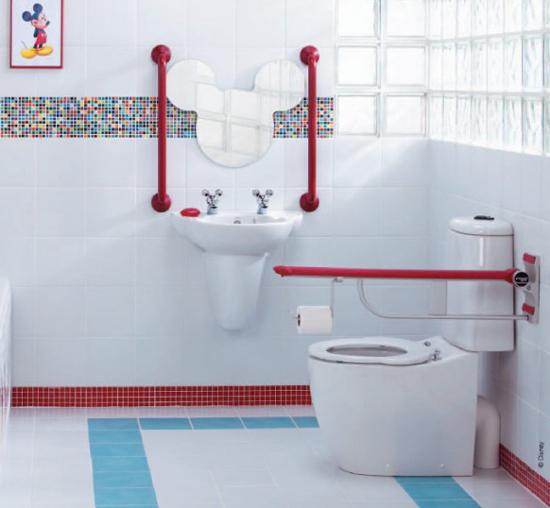 10 cute kids bathroom decorating ideas digsdigs for Children s bathroom designs