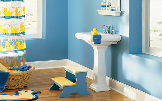 kids bathroom paint colors 10 bathroom decorating ideas digsdigs 18975