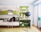 Kids Bedroom And Study For Two