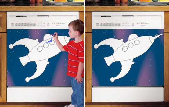 Kids Dry Erase Boards For Dishwashers By Applicianist Art