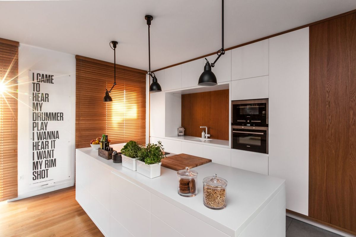 Shaped Kitchen Dining Living Room Designs ~ Living Room Category