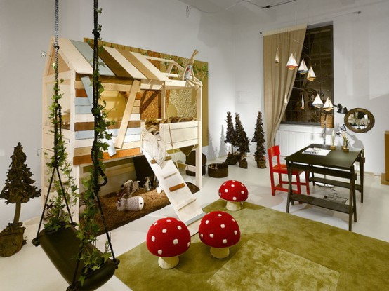 6 Amazing Kids Playroom Design Ideas