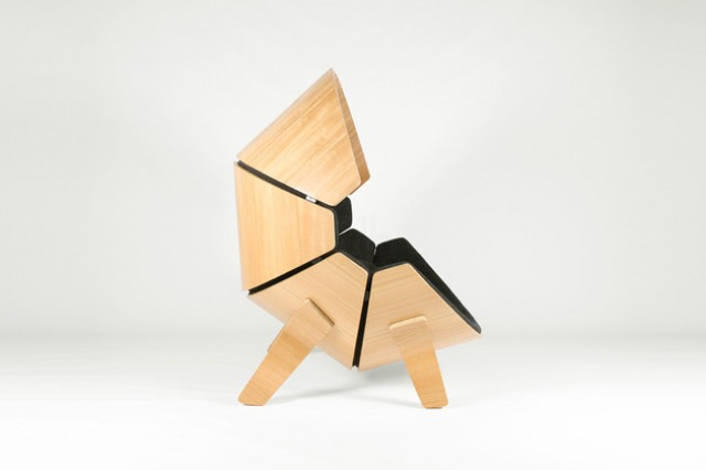 Cool Kid Private Hideaway: Molded Plywood Chair