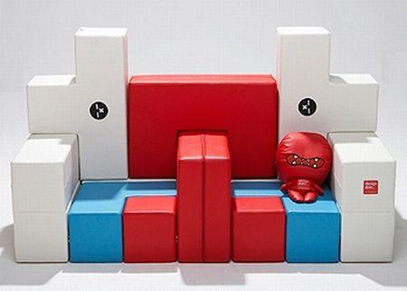Kids Puzzle Sofa