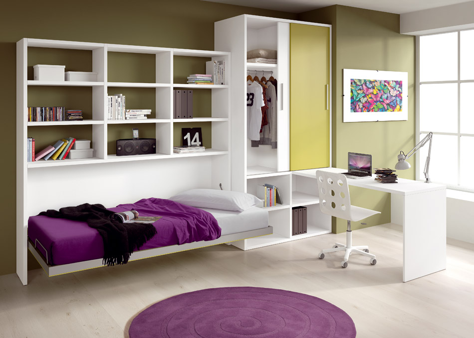 40 cool kids and teen room design ideas from asdara digsdigs for Teenage bedroom designs