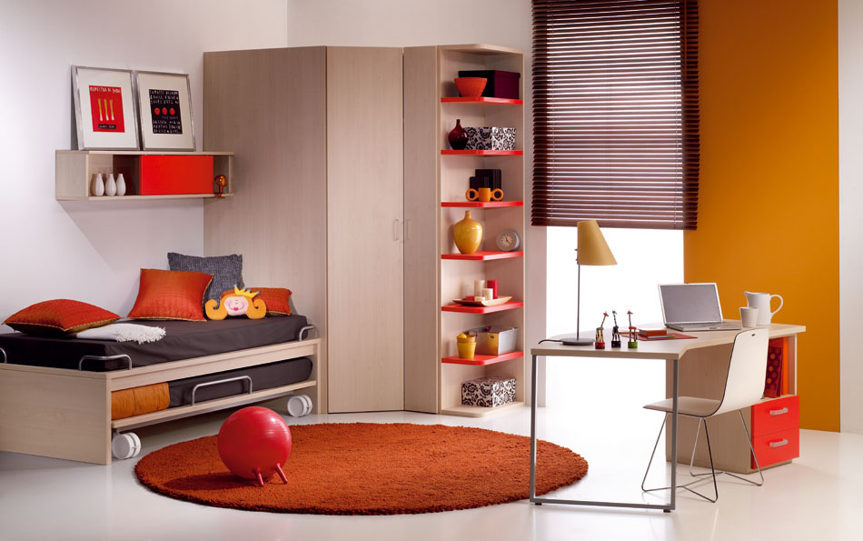 40 cool kids and teen room design ideas from asdara note for Cool kids bedroom designs