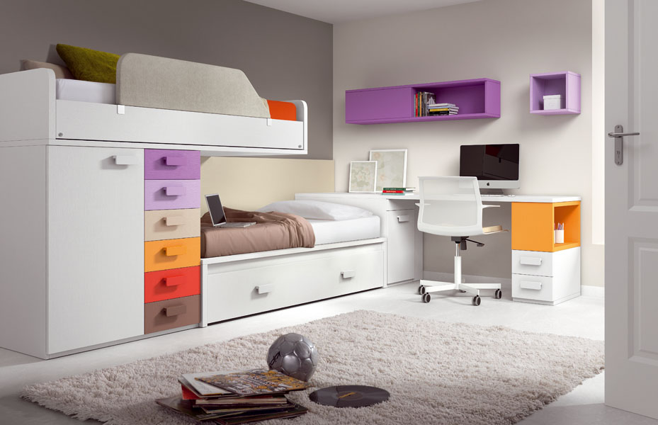 40 cool kids and teen room design ideas from asdara digsdigs for Kids bed design