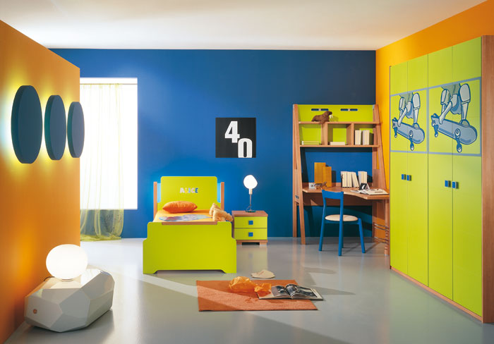 45 kids room layouts and decor ideas from pentamobili for Activity room decoration
