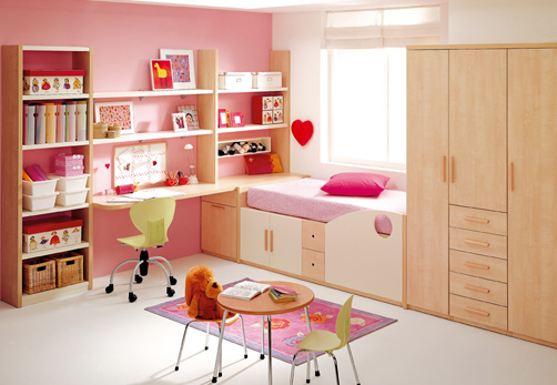 Kids Room Decor Pink