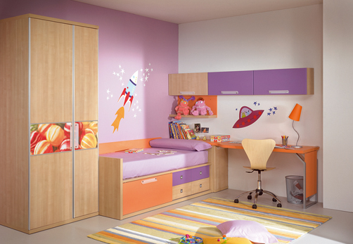 28 awesome kids room decor ideas and photos by kibuc for Designer childrens bedroom ideas