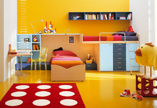 Kids Room Decor Yellow